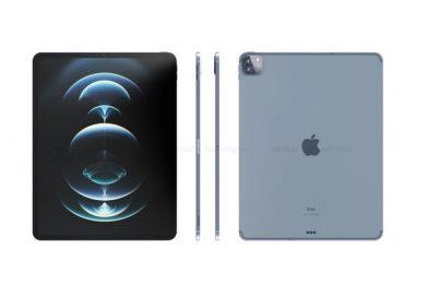 ภาพ Render ของ iPad Pro ที่จะใช้หน้าจอ mini-LED อาจจะเปิดตัวในเดือนมีนาคม นี้