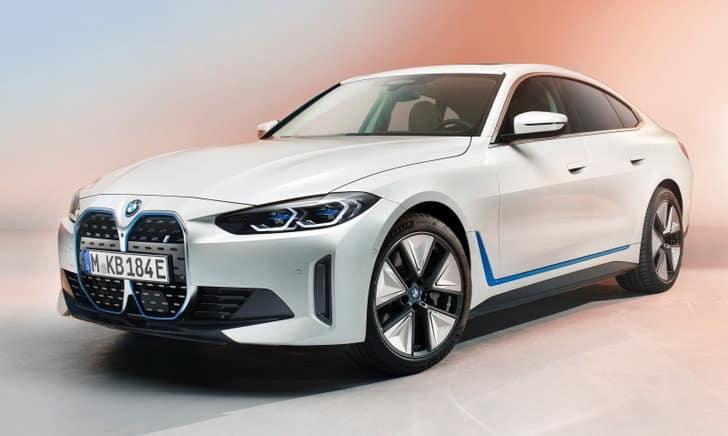 BMW i4 2021 ใหม่ ขุมพลังไฟฟ้า 530 แรงม้า เร่งความเร็ว 0-100 กม.ใน 4 วิ